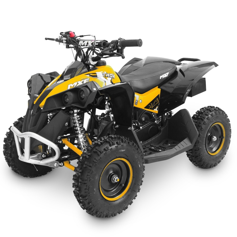 Mini Quadriciclo Thor 49cc com Partida Elétrica Amarelo